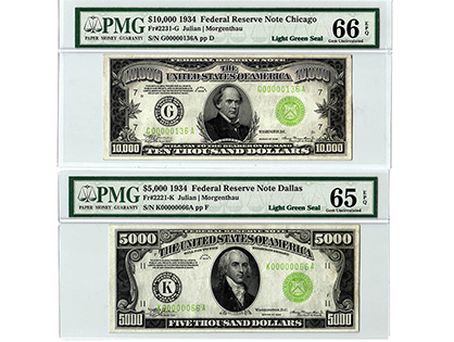 TRusted traditions collectible banknotes